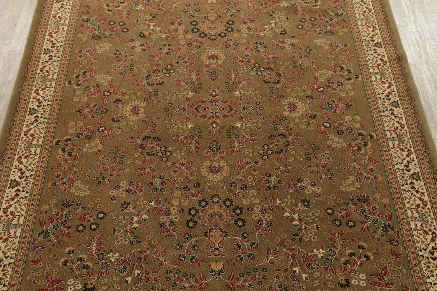 All-Over Floral Agra Turkish Area Rugs image 5
