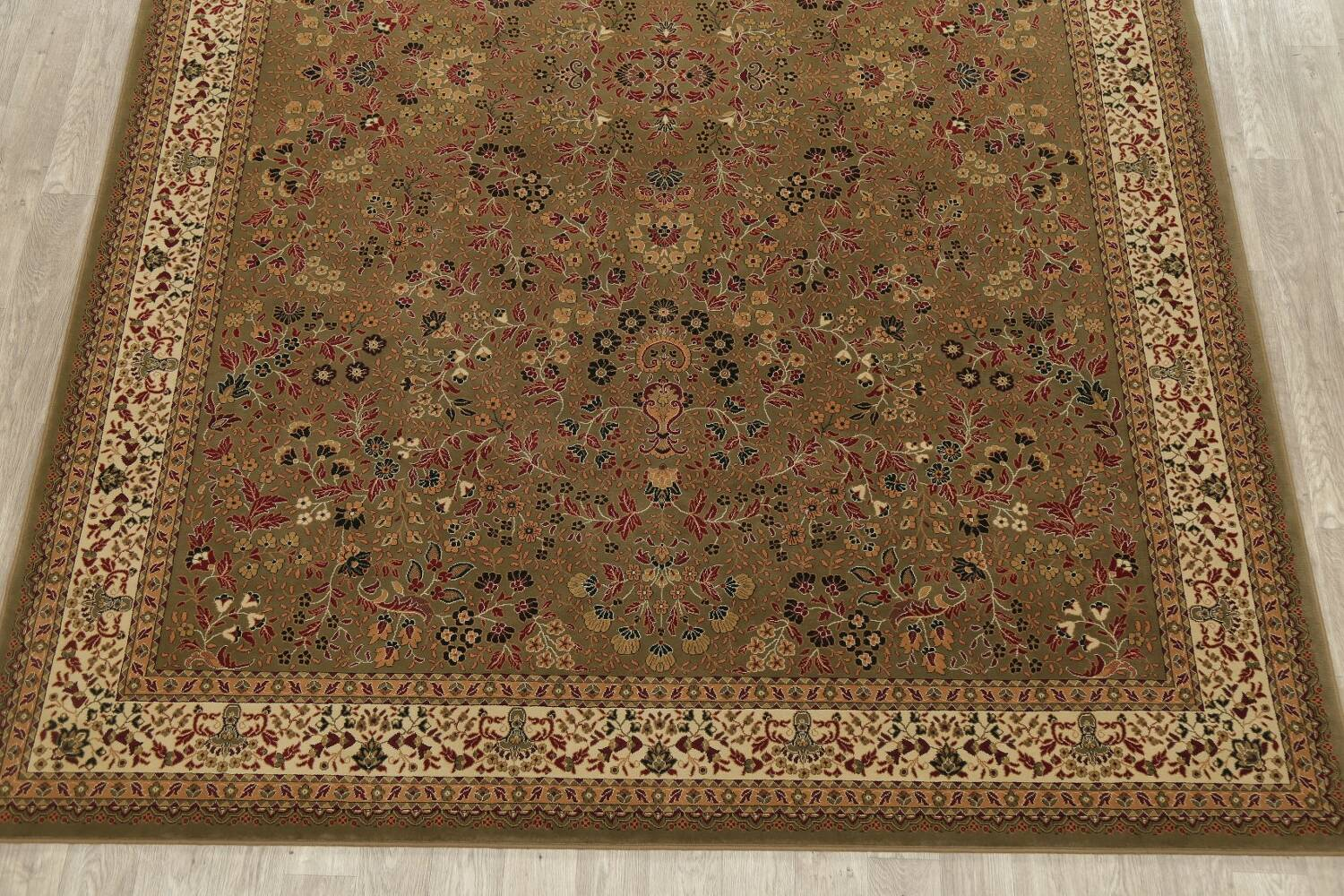 All-Over Floral Agra Turkish Area Rugs image 10