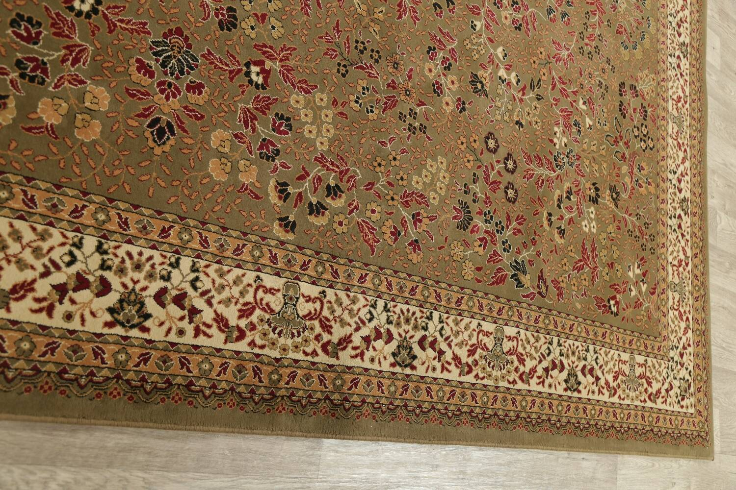 All-Over Floral Agra Turkish Area Rugs image 11