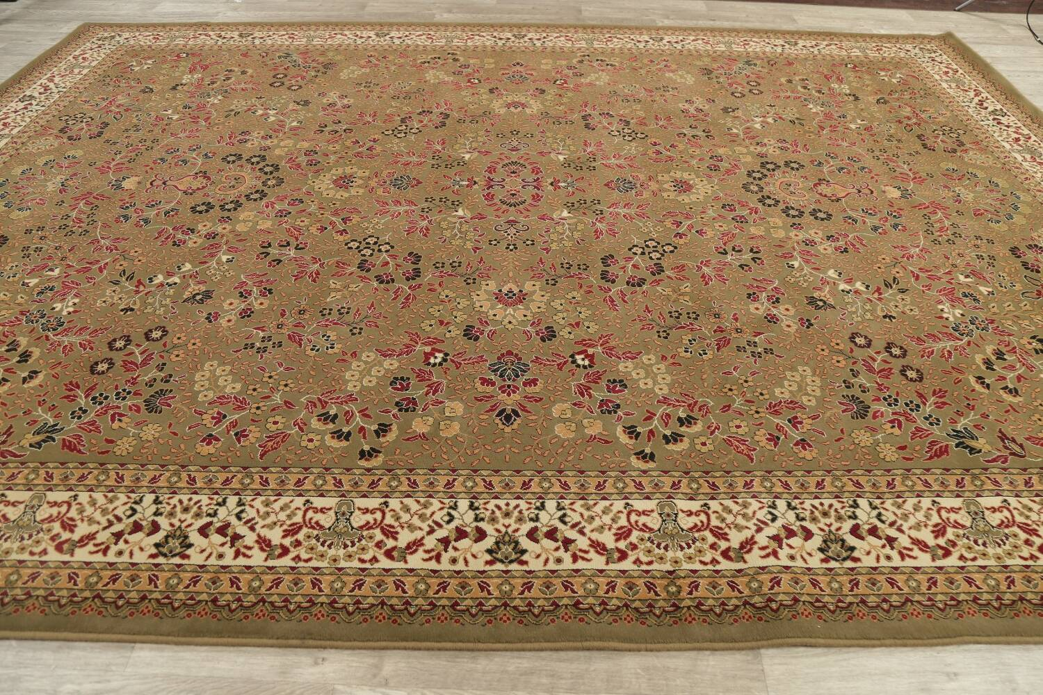 All-Over Floral Agra Turkish Area Rugs image 12