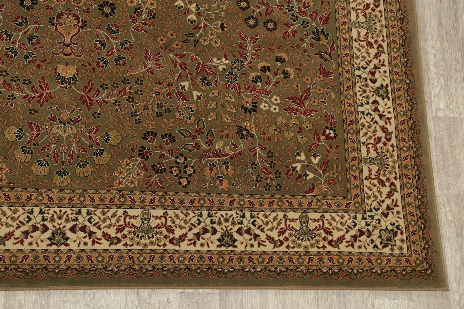 All-Over Floral Agra Turkish Area Rugs image 7