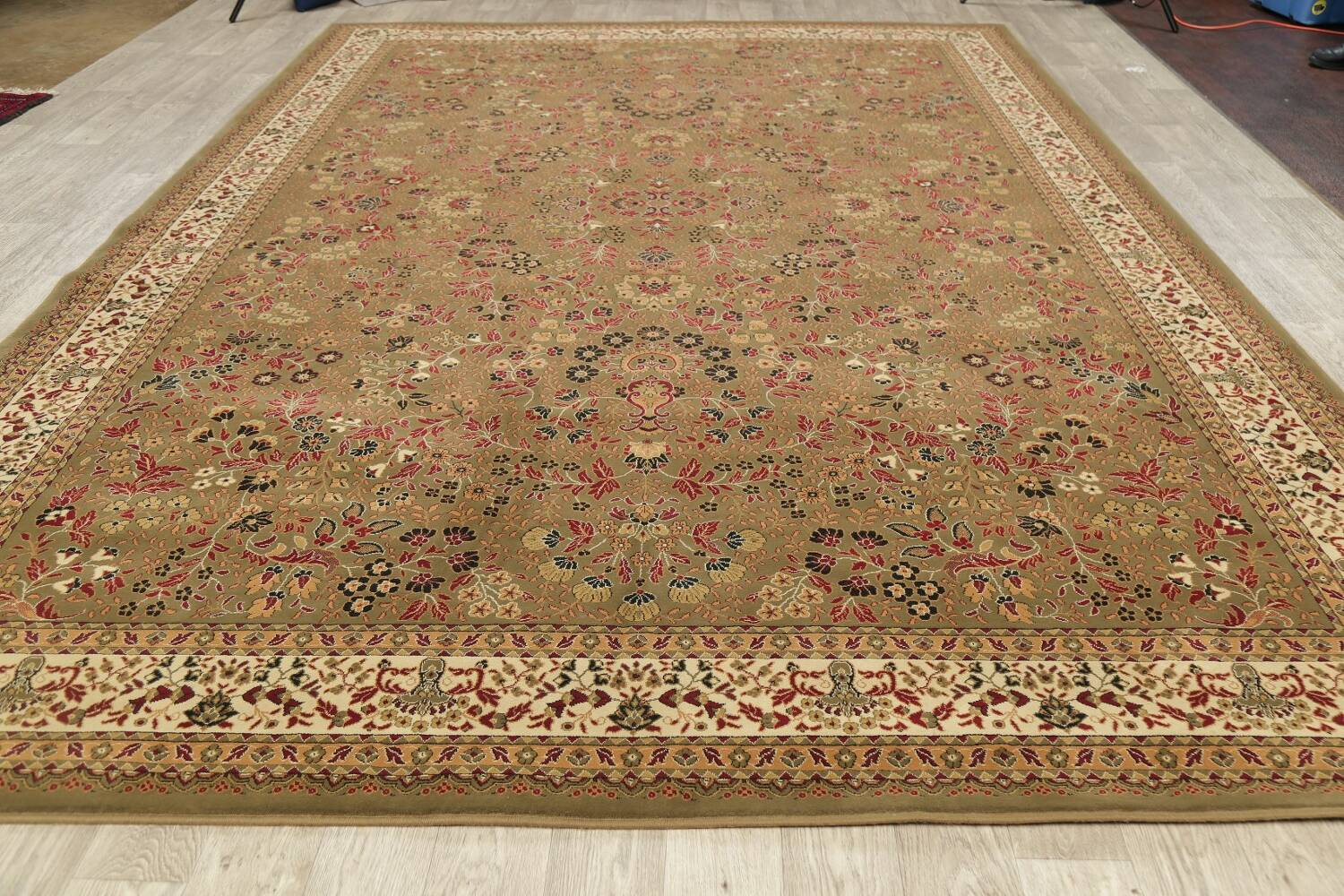 All-Over Floral Agra Turkish Area Rugs image 13