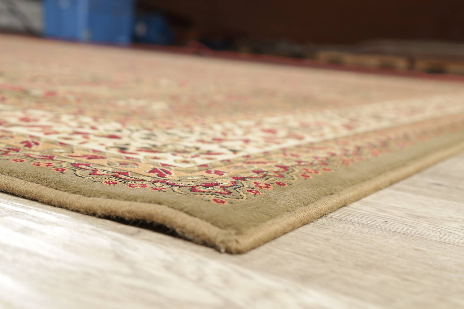 All-Over Floral Agra Turkish Area Rugs image 14
