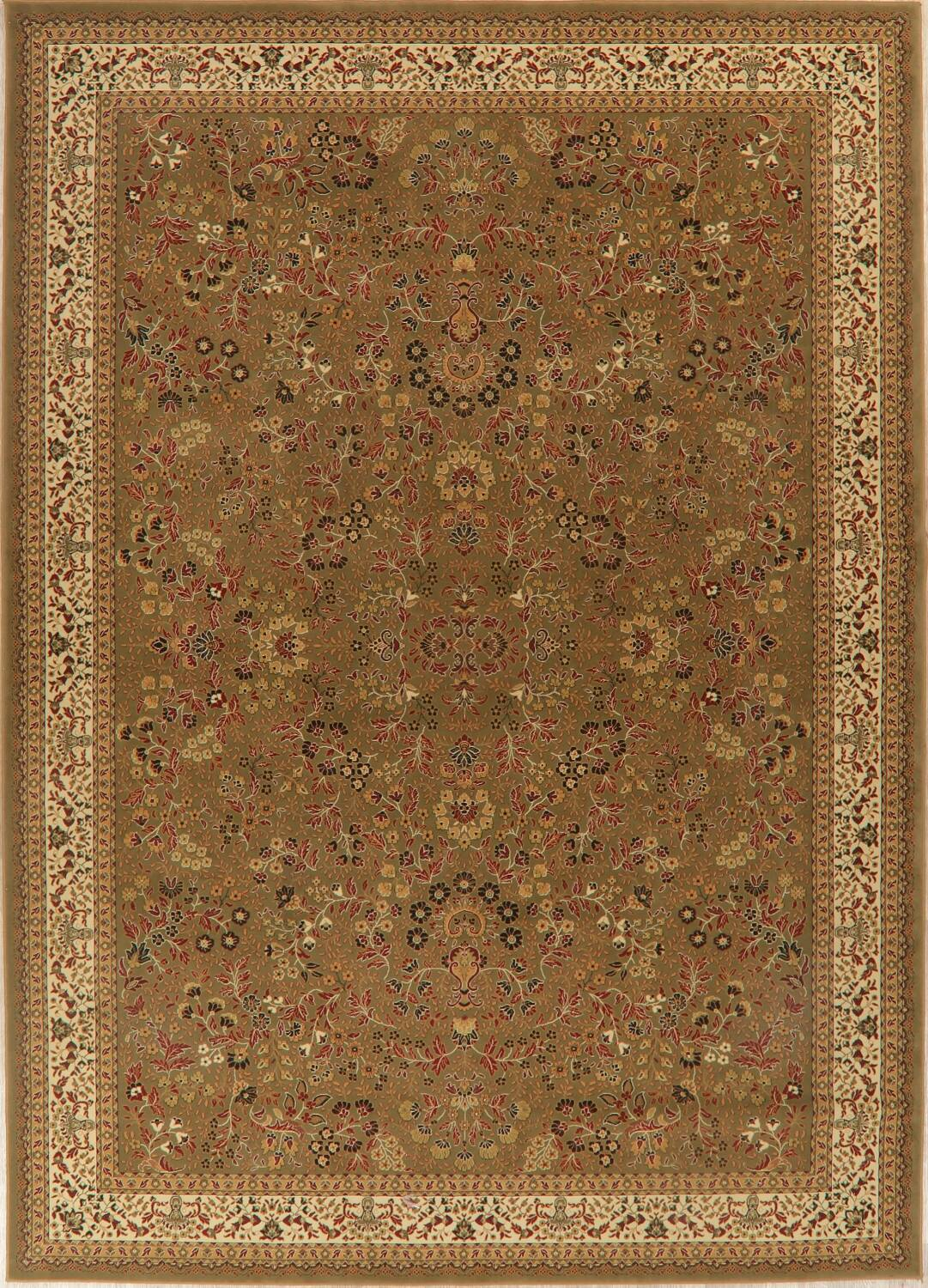 All-Over Floral Agra Turkish Area Rugs image 3