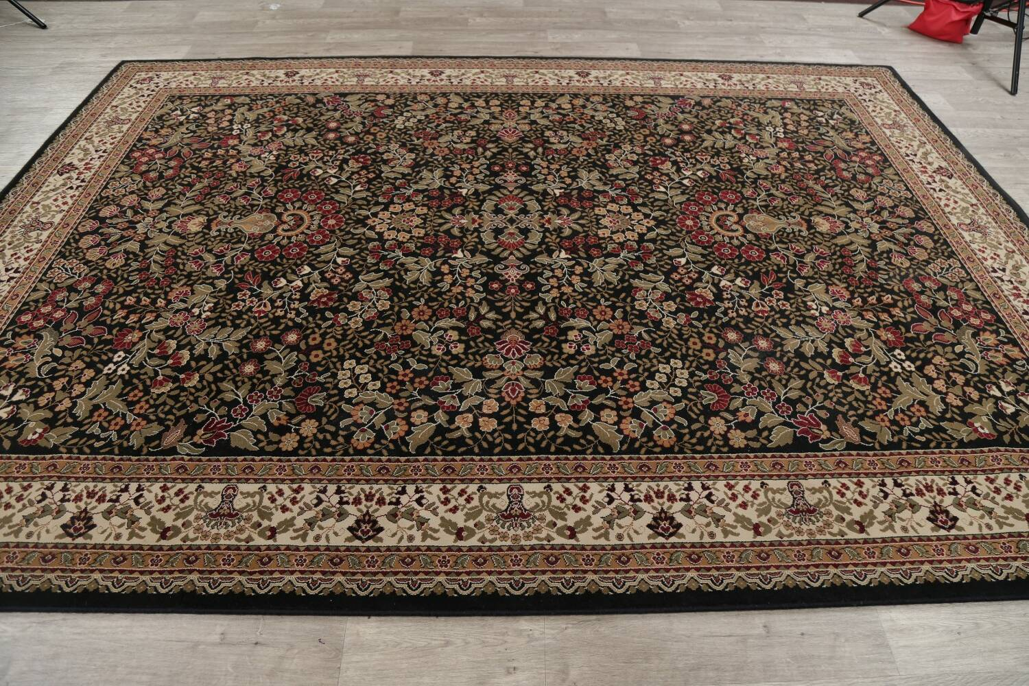 All-Over Floral Agra Turkish Area Rugs image 26