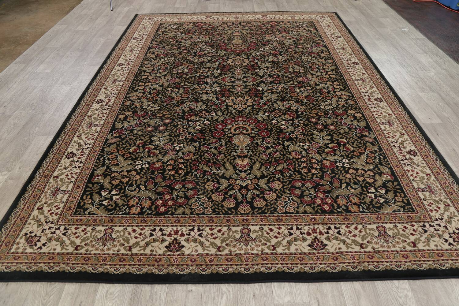 All-Over Floral Agra Turkish Area Rugs image 27