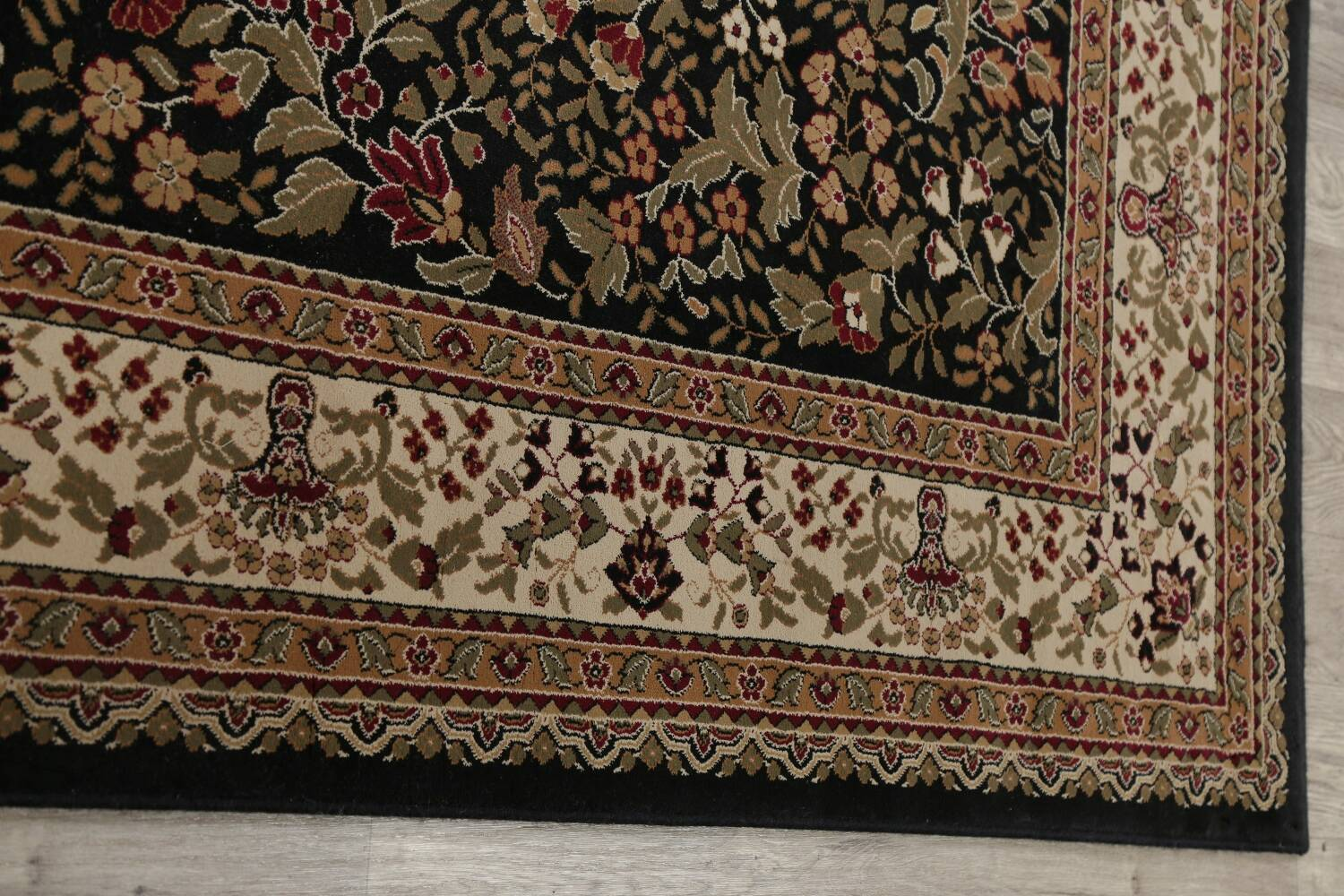 All-Over Floral Agra Turkish Area Rugs image 25