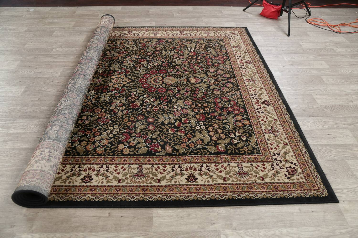 All-Over Floral Agra Turkish Area Rugs image 29