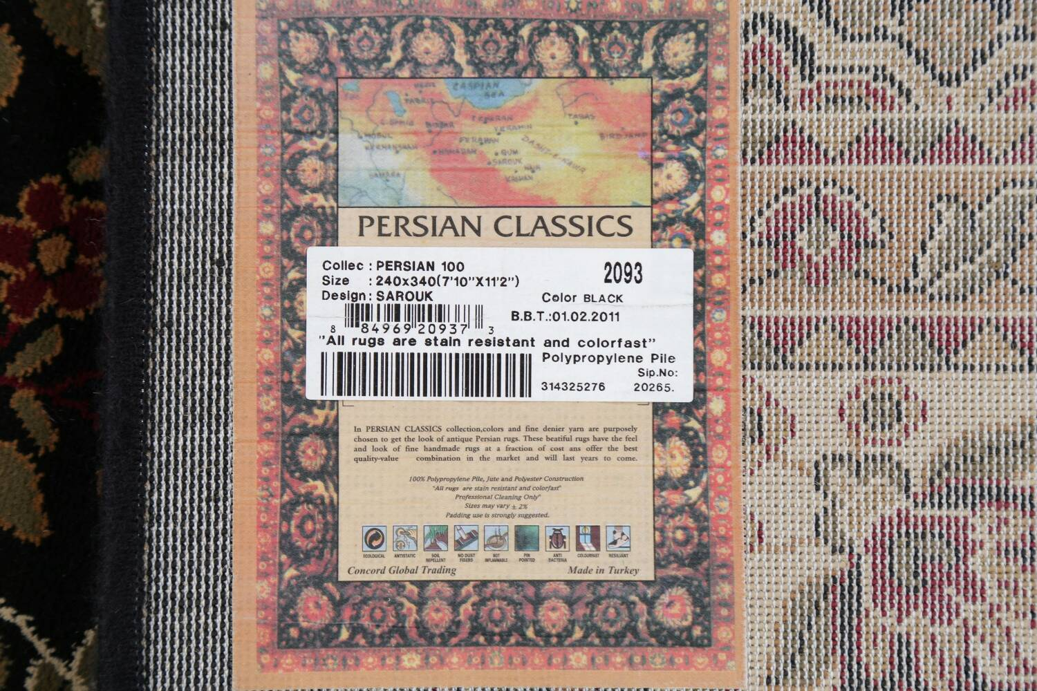 All-Over Floral Agra Turkish Area Rugs image 31