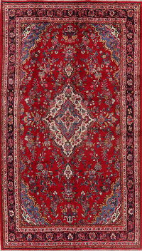 Floral Red Lilian Persian Area Rug 7x12