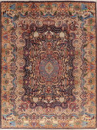 Animal Pictorial Kashmar Persian Area Rug 10x13