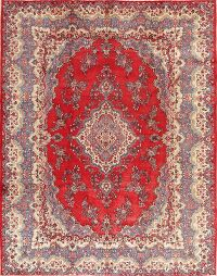 Vintage Floral Shahbaft Persian Area Rug 9x12