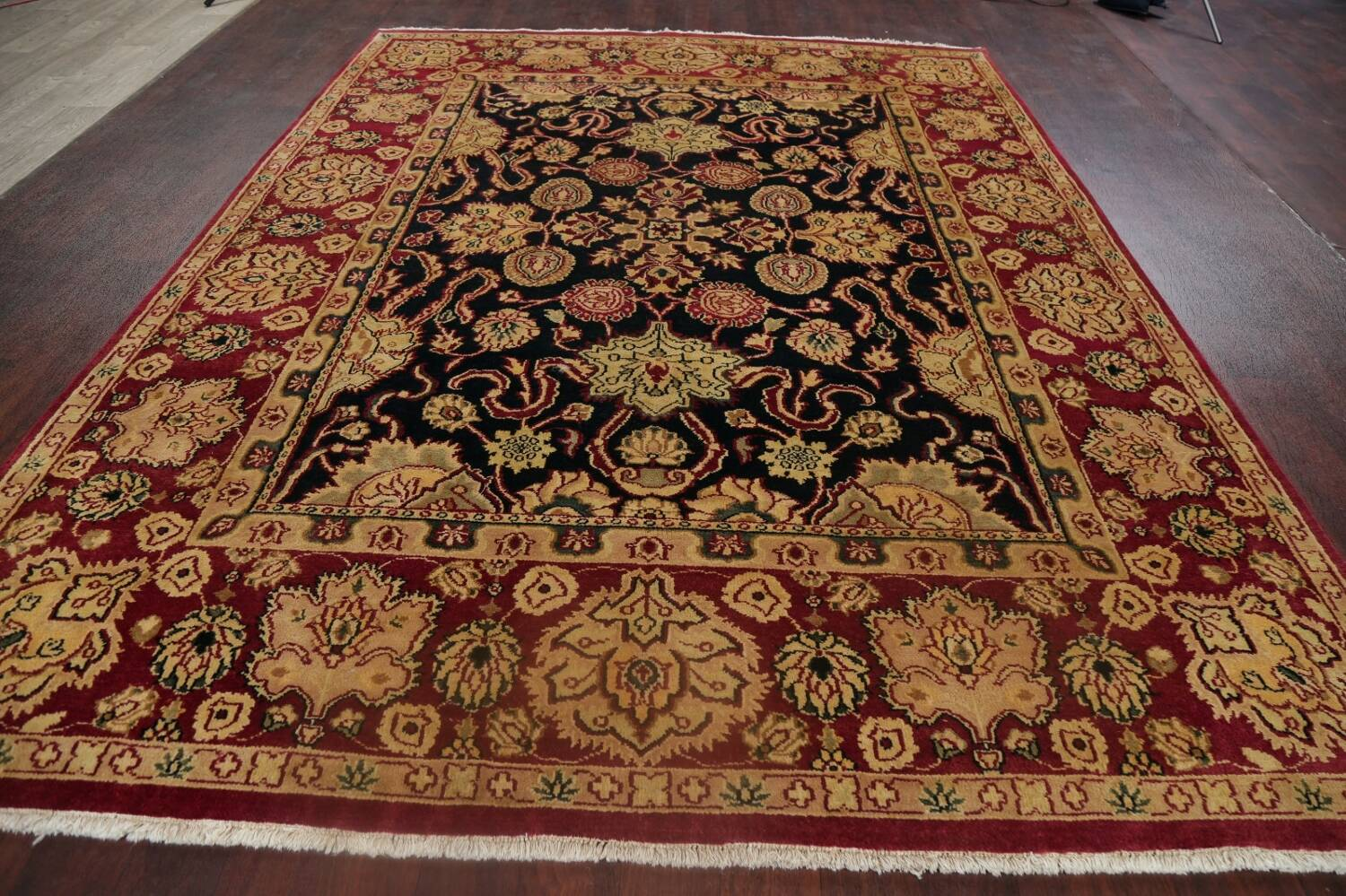 All-Over Floral Agra Oriental Area Rug 8x10 image 16