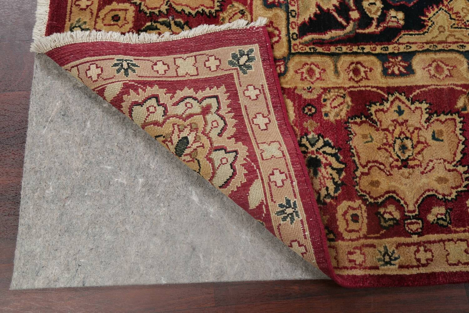 All-Over Floral Agra Oriental Area Rug 8x10 image 7