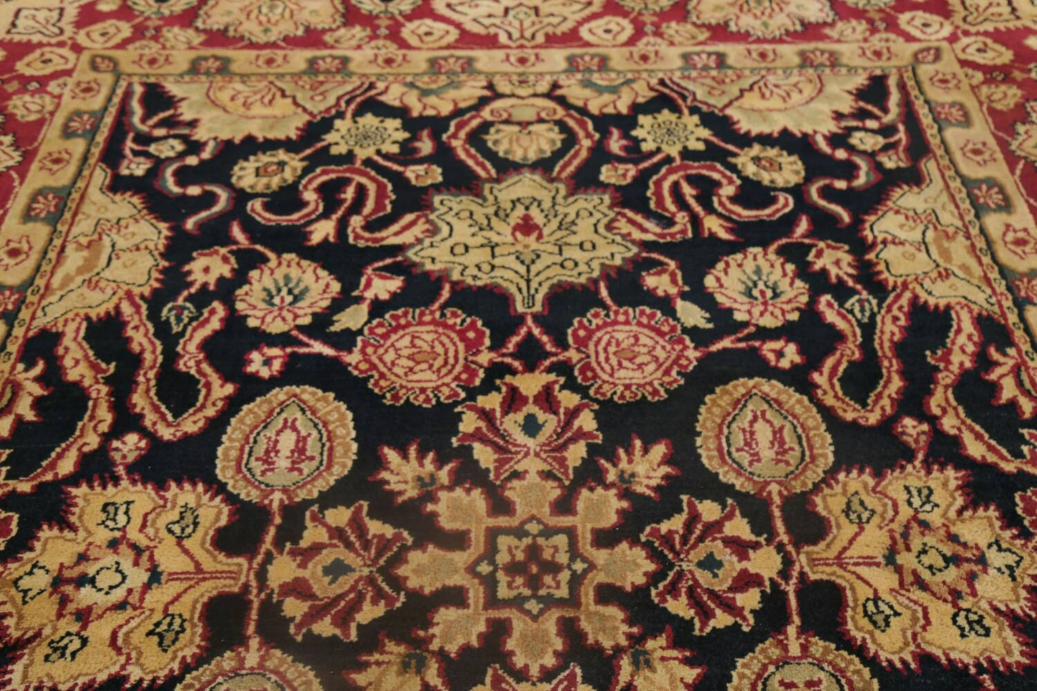 All-Over Floral Agra Oriental Area Rug 8x10 image 13