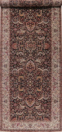 All-Over Floral Agra Oriental Runner Rug 6x17