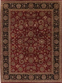 All-Over Floral Agra Oriental Area Rug 9x12