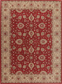 All-Over Floral Karastan Oriental Area Rug 9x12