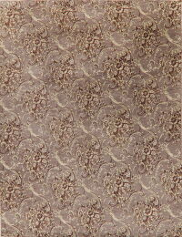 All-Over Aubusson Oriental Area Rug 9x12