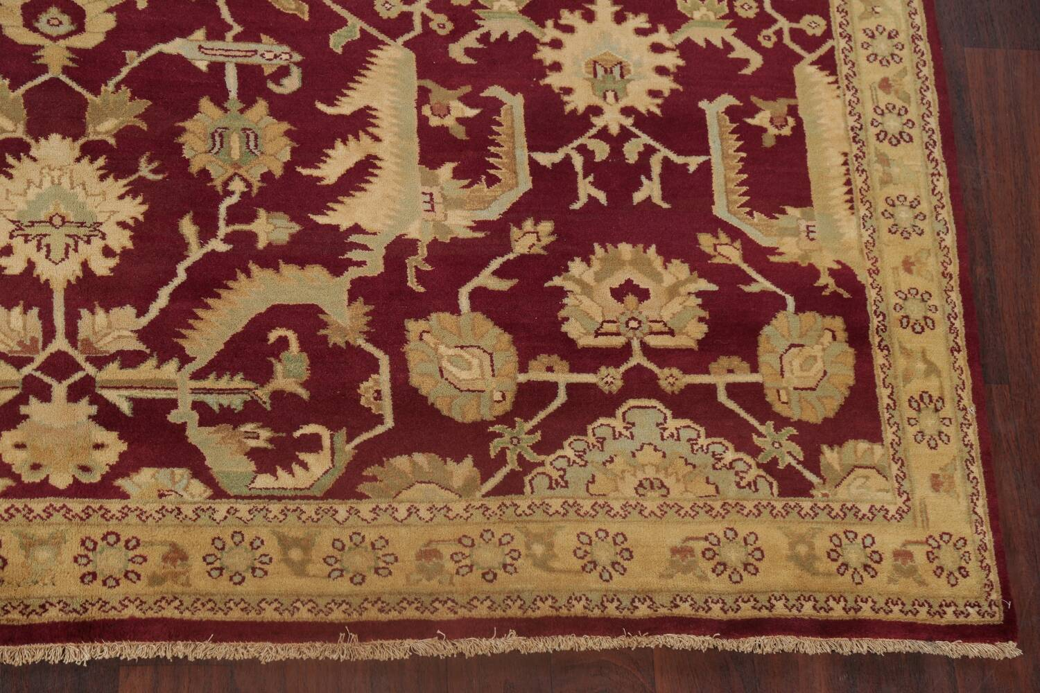 All-Over Red Oushak Oriental Area Rug 8x10 image 5
