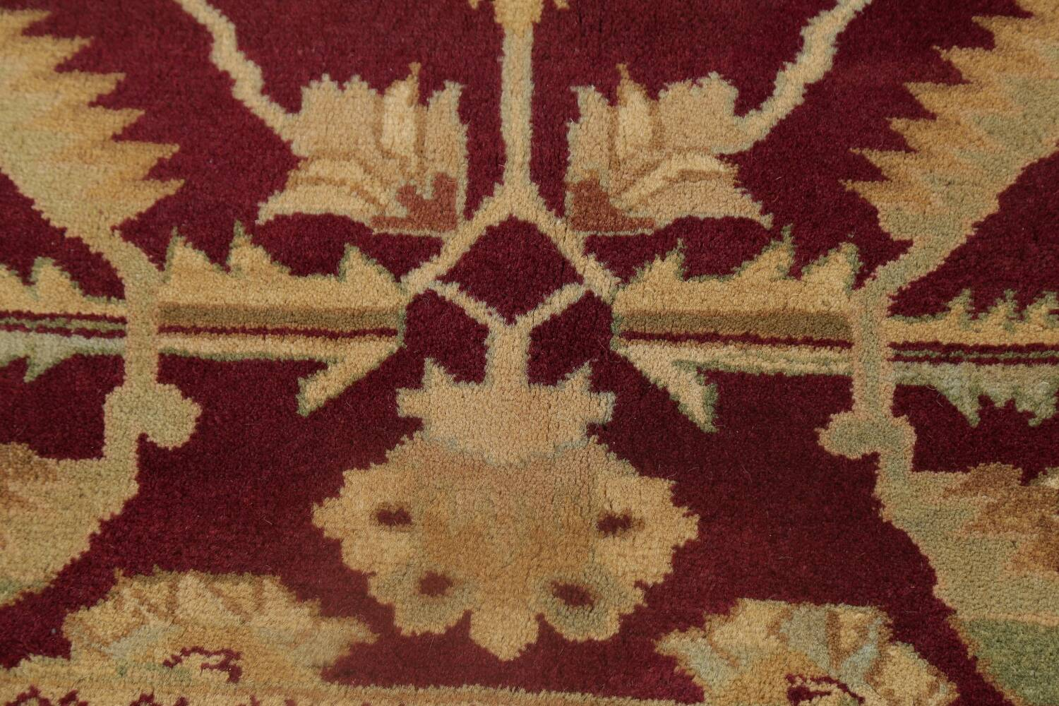 All-Over Red Oushak Oriental Area Rug 8x10 image 9