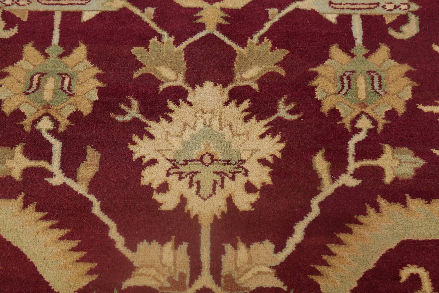 All-Over Red Oushak Oriental Area Rug 8x10 image 10