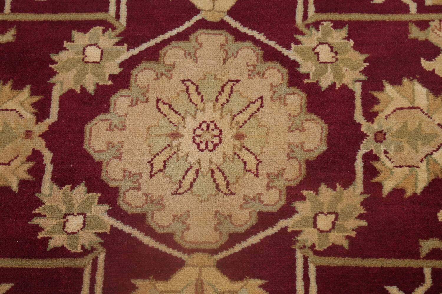 All-Over Red Oushak Oriental Area Rug 8x10 image 11