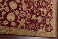 All-Over Red Oushak Oriental Area Rug 8x10 image 13