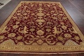 All-Over Red Oushak Oriental Area Rug 8x10 image 15