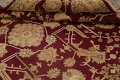 All-Over Red Oushak Oriental Area Rug 8x10 image 17