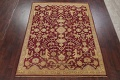 All-Over Red Oushak Oriental Area Rug 8x10 image 2