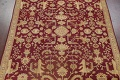 All-Over Red Oushak Oriental Area Rug 8x10 image 3