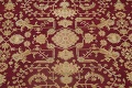 All-Over Red Oushak Oriental Area Rug 8x10 image 4