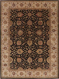 All-Over Floral Agra Oriental Area Rug 9x13