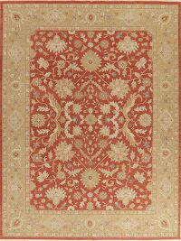 All-Over Floral Sumak Oriental Area Rug 9x12