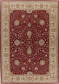 Floral Red Oushak Chobi Oriental Area Rug 8x10