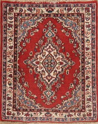 Wool & Silk Floral Shahbaft Persian Area Rug 2x3