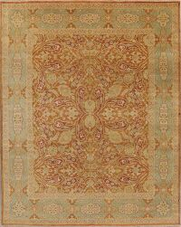 All-Over Tuscan Rust Agra Oriental Area Rug 8x10