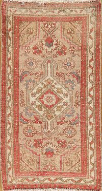 Geometric Malayer Persian Area Rug 2x3