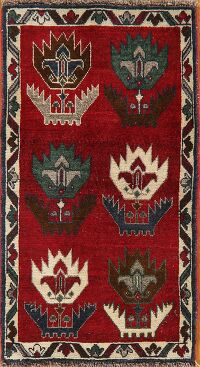 Geometric Shiraz Persian Area Rug 2x3