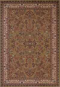 All-Over Floral Green Area Rug 5x8