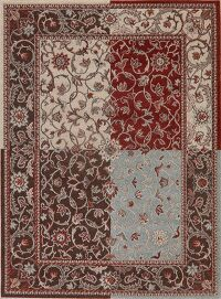 All-Over Floral Modern Area Rug 5x7