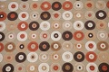 All-Over Brown Modern Area Rug 5x7 image 3