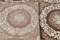 Beige & Brown Tuscan Chester Area Rug 5x7 image 7