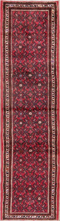 All-Over Geometric Malayer Persian Runner Rug 2x10