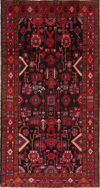 Tribal Geometric Nanaj Persian Area Rug 5x8