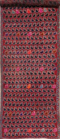Vintage All-Over Lori Persian Runner Rug 4x12