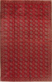 Vintage All-Over Balouch Oriental Area Rug 7x11