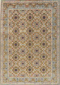 Traditional Floral Najafabad Persian Area Rug 8x11