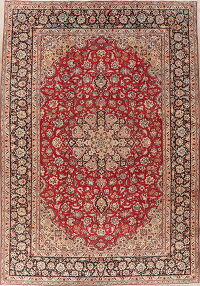 Floral Red Najafabad Persian Area Rug 9x13